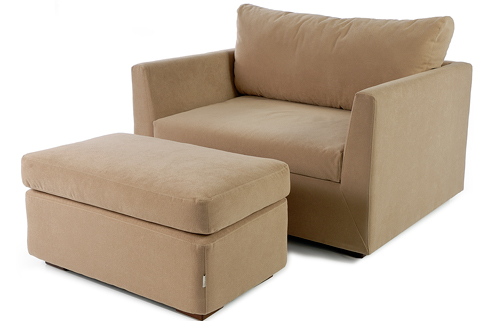 Exchange Armchair & Footstool