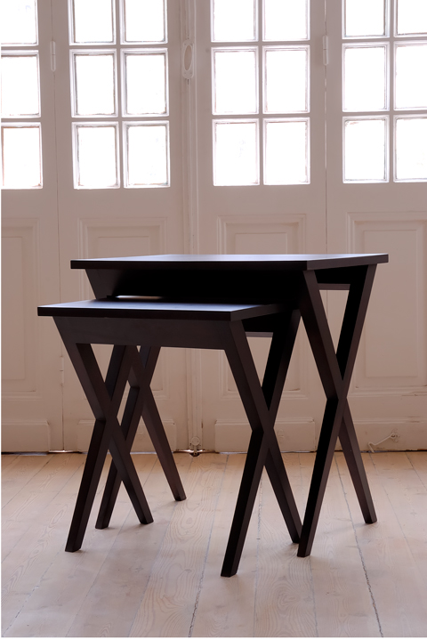 CROSS-Leg Side Table