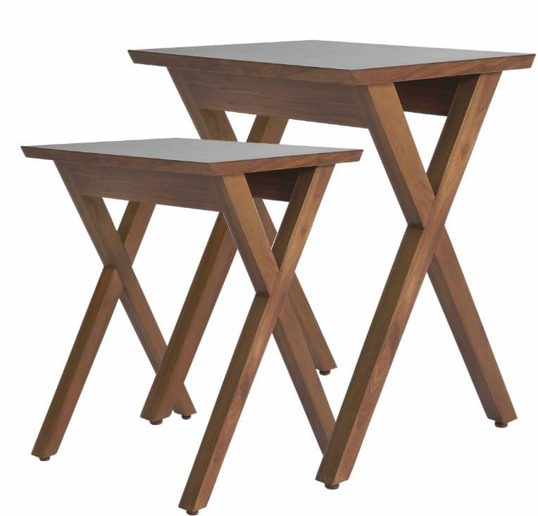 CROSS-Leg Side Tables