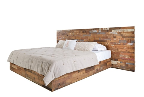 RECLAIMED Plank Headboard