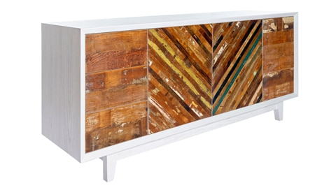 RECLAIMED HERRINGBONE Buffet