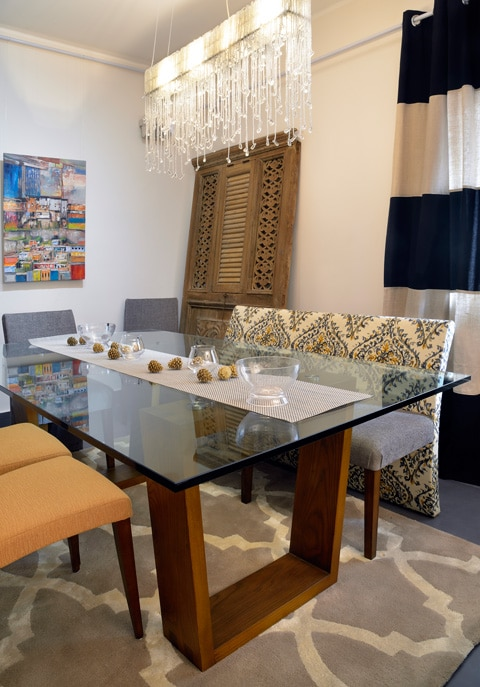 TRAPEZE Rectangular Dining Table