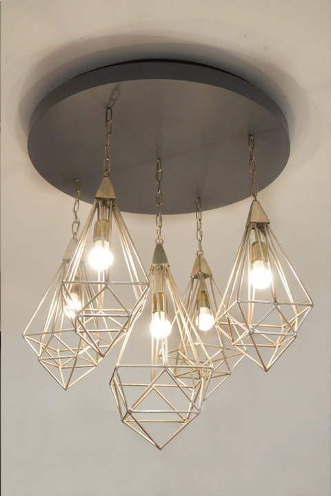 HEXAGON Hanging light