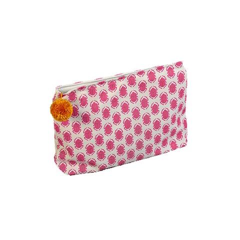 SCARAB Pink Make-Up Bag