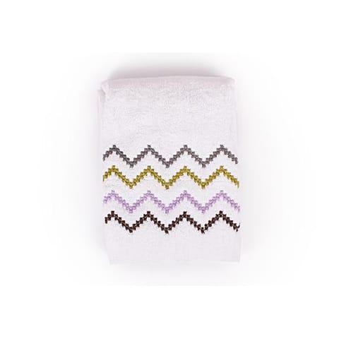 ZigZag Lilac Towel
