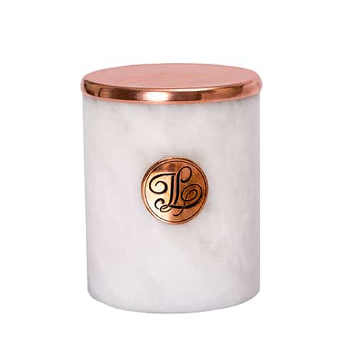 CARRARA Marble Candle