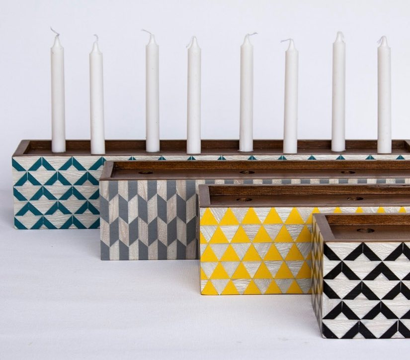 Block Candleholder