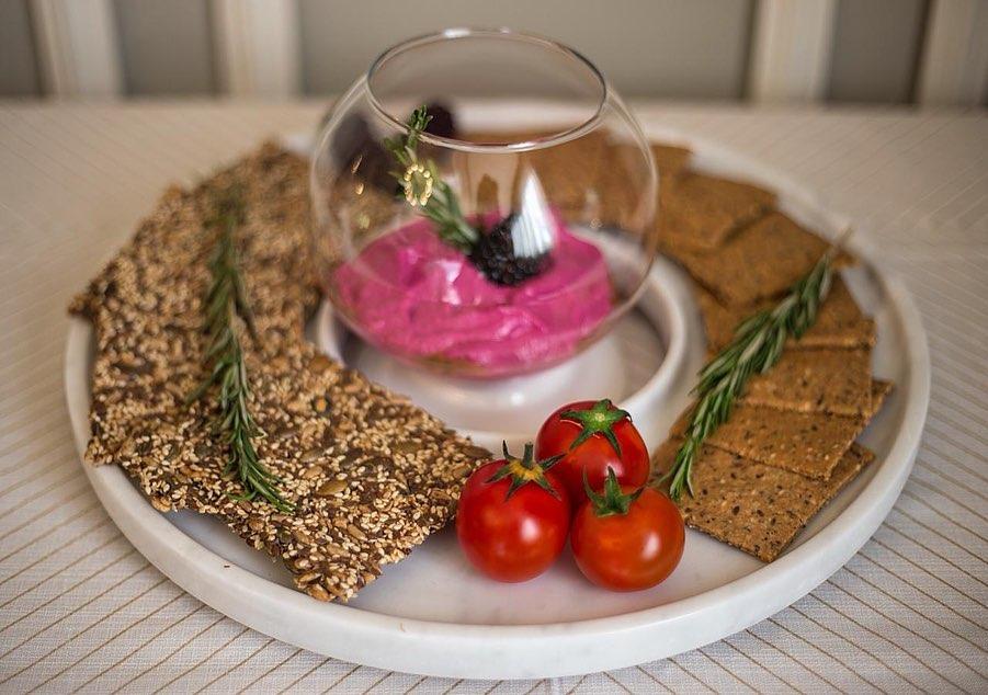 Marble Dip Platter