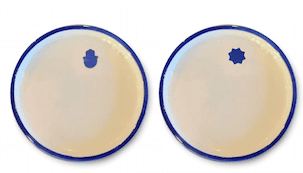 Round Plate Set of 2