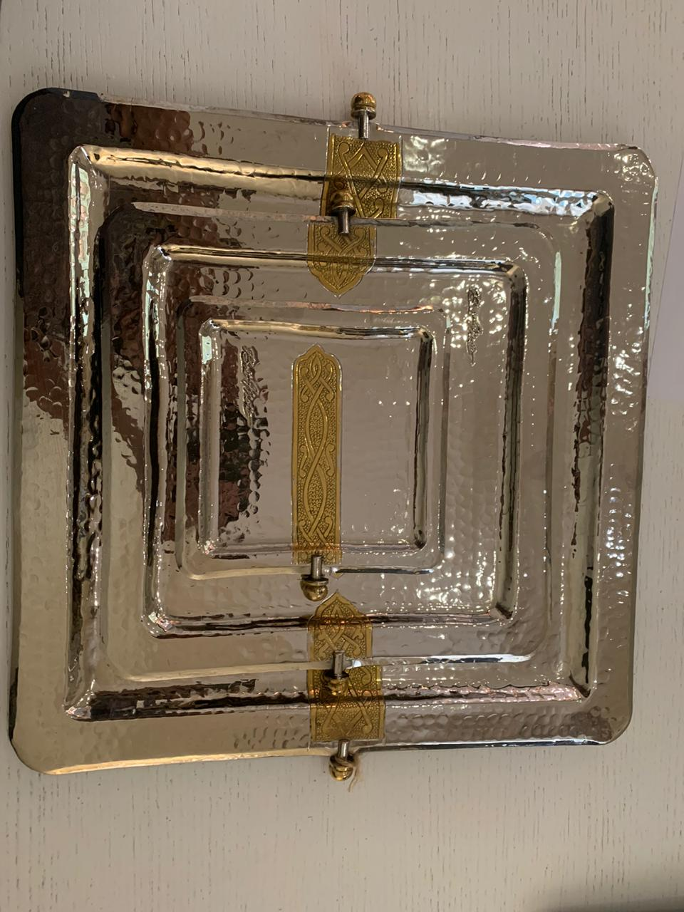 Square Copper Trays