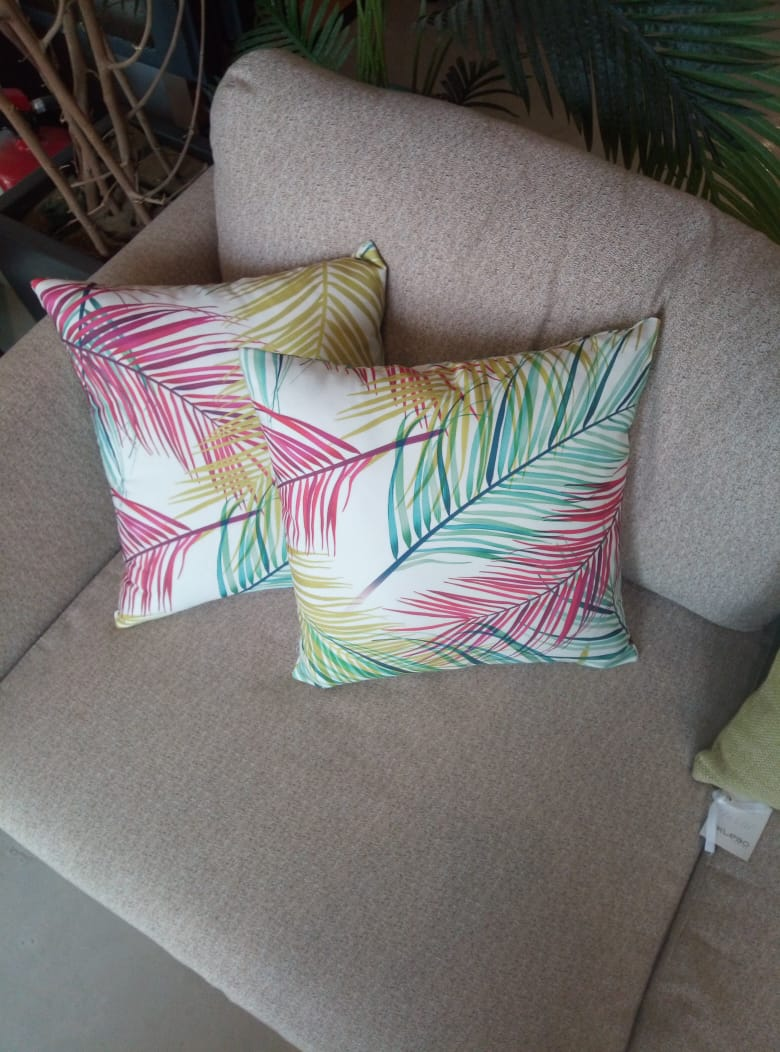 Summer Streaks Cushion