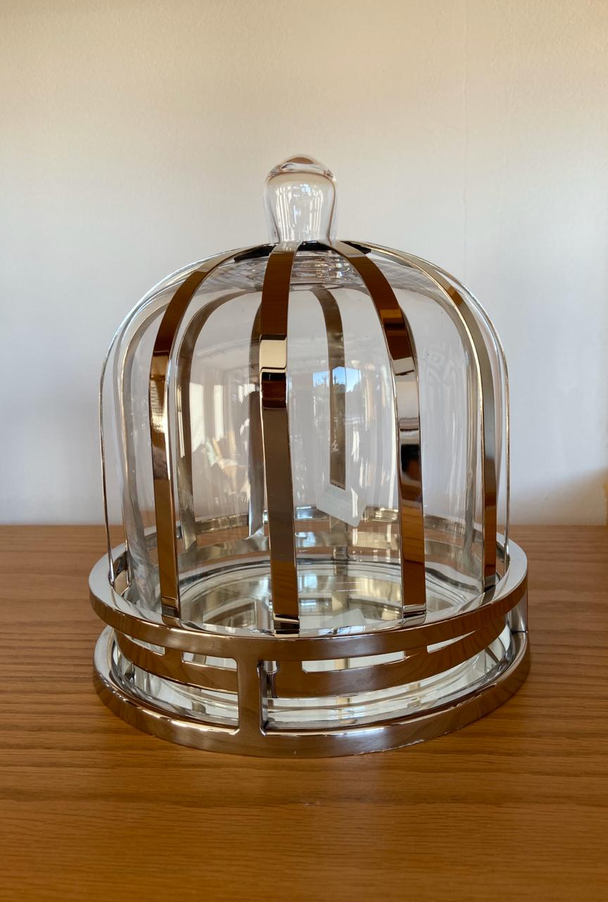 Dome food container