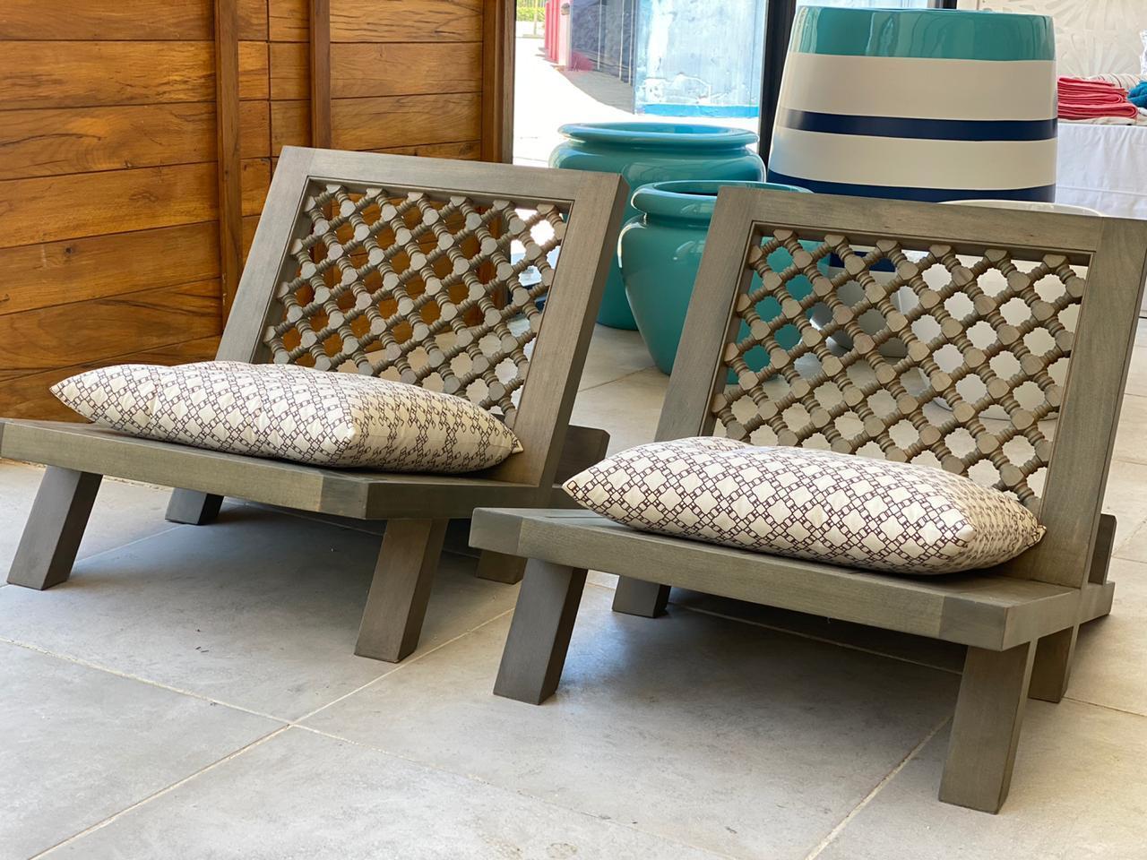 Mashrabiya Chairs