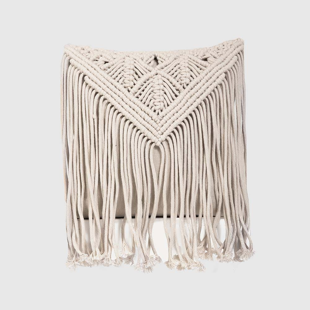 Eden Macramé Cushion