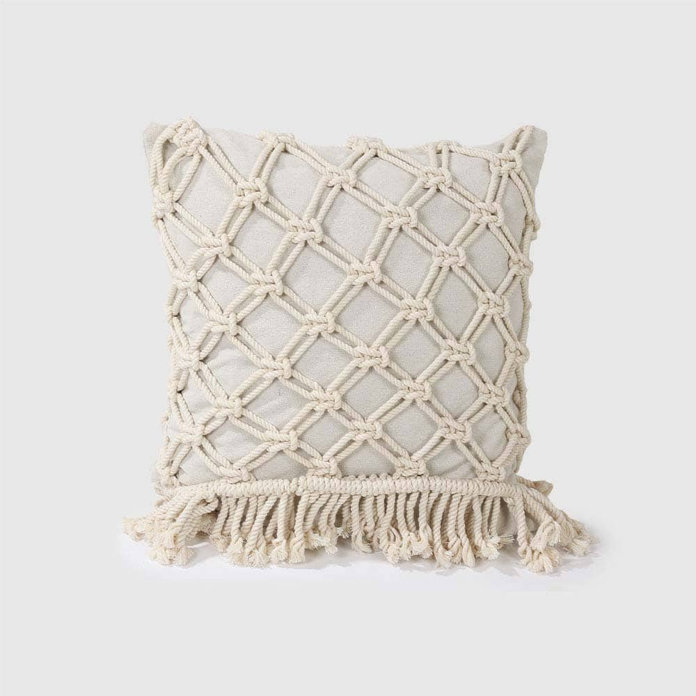 Piper Macramé cushion