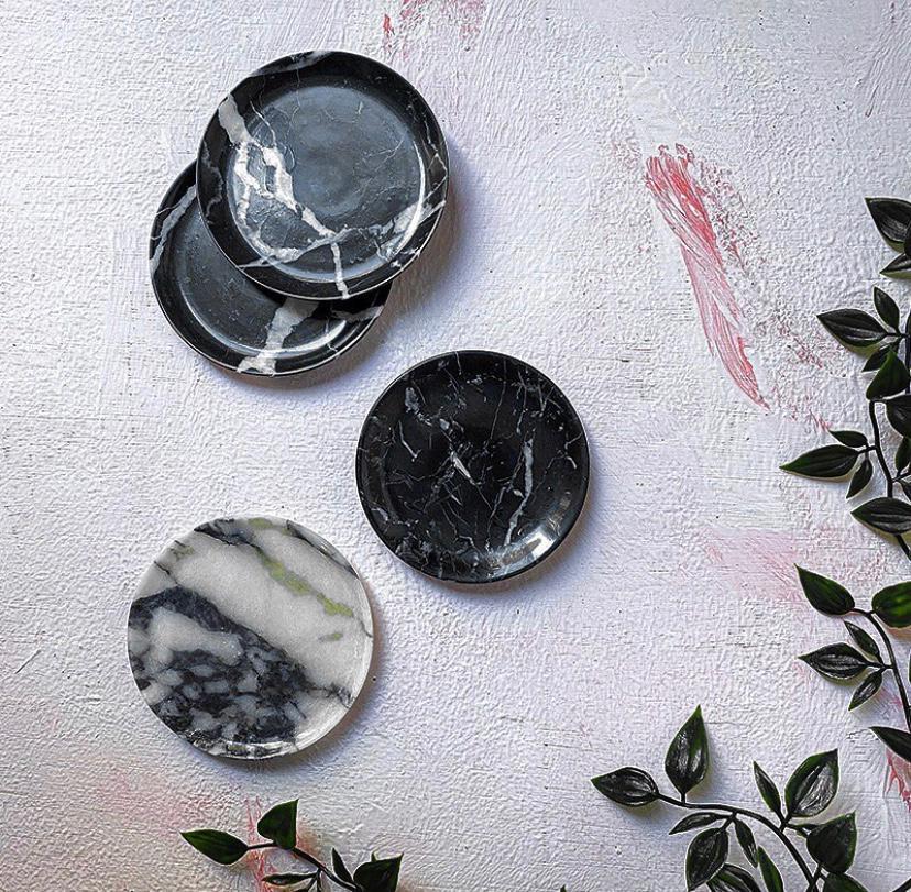 Mud Marble Coasters