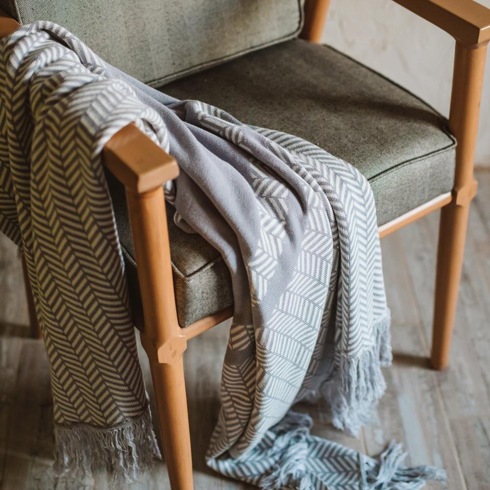 Muffler Throw Blanket