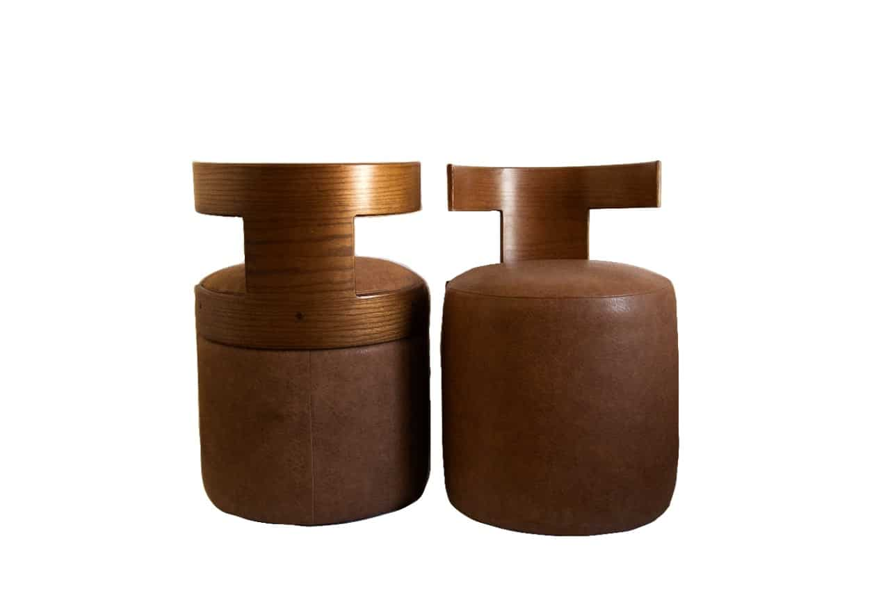 T Chair Leather