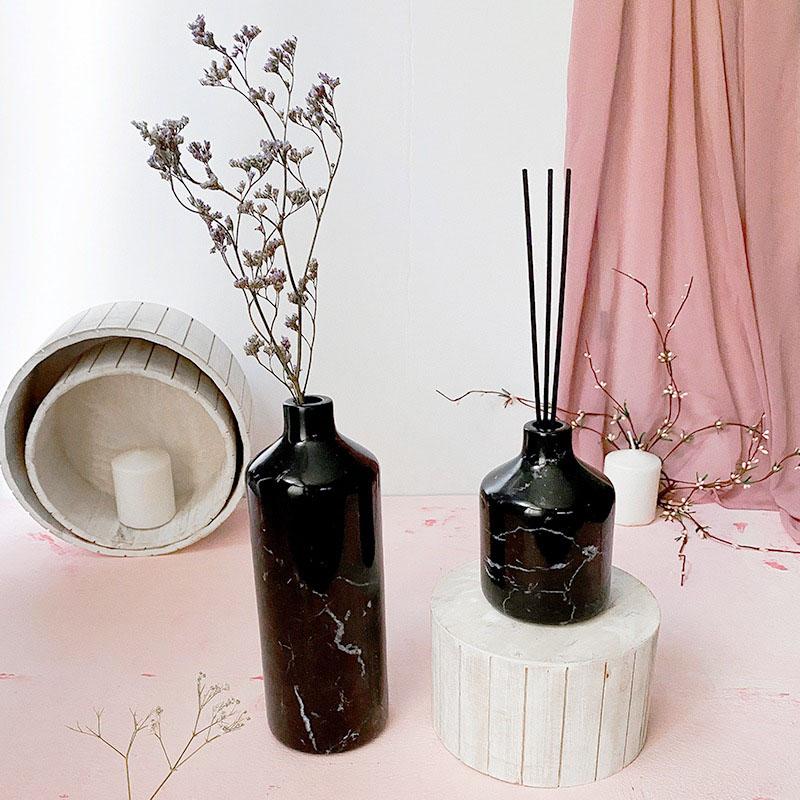 Marble Vase Tall