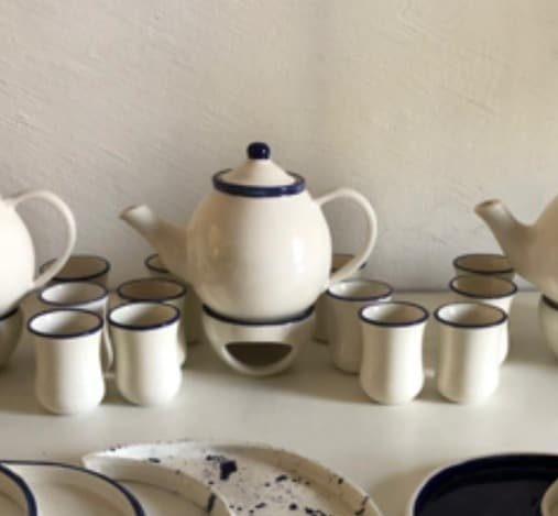 Tea Pot & Cups