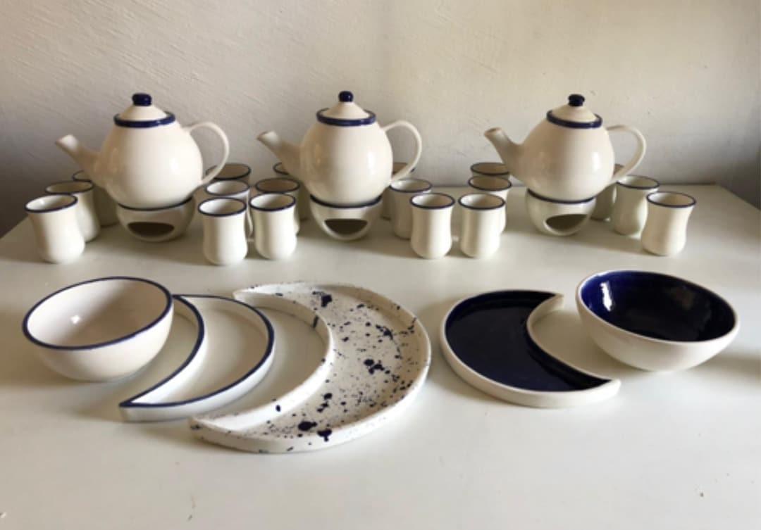 Hilal Plate Set