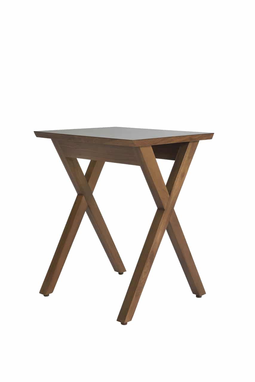 Crisscross Night Table